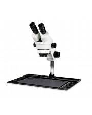 VS-10E Binocular Zoom Stereo Microscope - 0.7X - 4.5X Zoom Range