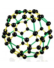 VCM011 C-60 Buckminsterfullerene Molecular Model